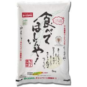【精米】【プレゼントキャンペーン付】 国産 食べてほしいんや! 5kg 令和元年産