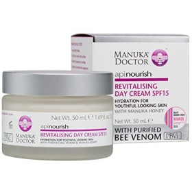 Manuka Doctor Api Nourish Revitalising Day Cream SPF15 50ml - マヌカドクターデイクリーム15の50ミリリットルの活性化養います [並行輸入品]