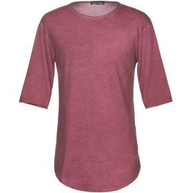 《期間限定セール開催中!》PEOPLEHOUSE メンズ T シャツ ガーネット M コットン 95% / ポリウレタン 5%