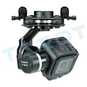 Tarot GoPro T-3DⅣメタル3軸ブラシレスジンバルののGoPro 4セッション用tl3T02