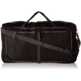 Villacera 28-inch旅行ダッフルバッグ  Folds Down Easy  ブラック ジムバッグ