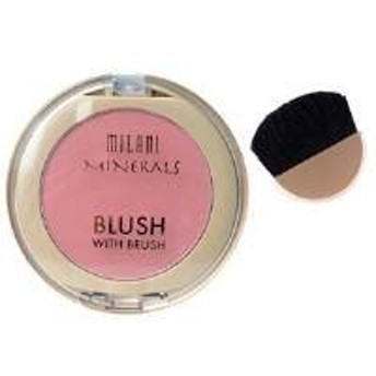 MILANI Mineral Blush with Brush - Sweet Rose (並行輸入品)