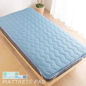 冷感 接触冷感 敷きパッド 敷パッド ベッドパッド シングル 柄・色は選べません