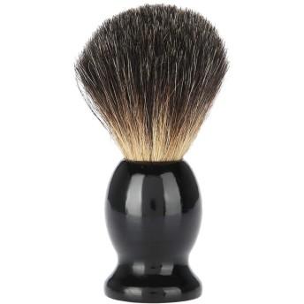 シェービング用ブラシ 木のひげのブラシ - 携帯用 理髪サロン用具 良質の剛毛 触覚の快適 シェービング用アクセサリ シェービングツール