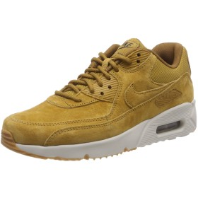 Nike Air Max 90 Ultra 2.0 LTR [924447-700] Men Casual Shoes Wheat/Light Bone/US 9.0