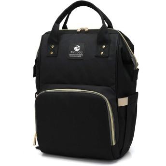 ZL4CH マザーズバッグ レディースバッグ 防水新型ファッション多機能リュックサック 大容量