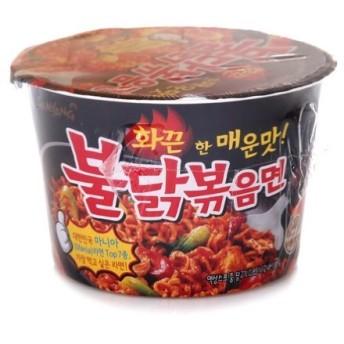 Samyang Buldak Bokkeum Ramyun Gourmet Very Spicy Cup Noodle Soup (Pack of 4)