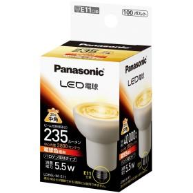 パナソニック LED電球 E11口金 電球色相当(5.5W) ハロゲン電球タイプ LDR6LME11