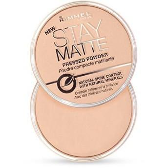 Rimmel Stay Matte Natural Shine Control Pressed Powder Sandstorm (2-Pack) (並行輸入品)