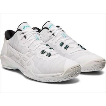 [asics]アシックス メンズバスケットボールシューズ GELBURST 23 LOW (1061A021)(102) ホワイト/ホワイト[取寄商品]