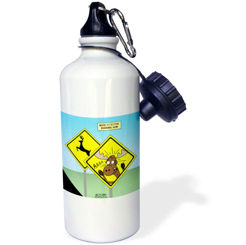 21 oz 3dRose wb/_1311/_1Piazza San Marco Venezia Italy Sports Water Bottle White