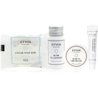 ETVOS(エトヴォス) バランシングライン トラベルセット [洗顔/化粧水/クリーム/部分用美容液] ニキビケア