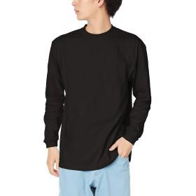 [プリントスター] 長袖 7.4オンス HVL スーパーヘビー Tシャツ 00149-HVL ブラック 日本 L (日本サイズL相当)