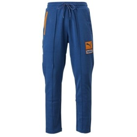 レディース 【PUMA ウェア】 プーマ ウェア M COLOUR BLOCK スウェット パンツ 596413 39GALAXY BLUE