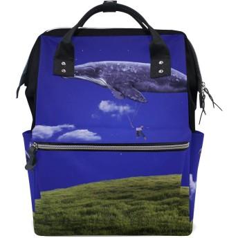 ANNSIN マザーズバッグ ママバッグ リュック バックパック ハンドバッグ 3WAY 多機能 防水 大容量 軽量 シンプル おしゃれ ベビー用品収納 出産準備 旅行 お出産祝い 動物