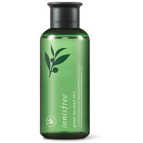 イニスフリーグリーンティーシードスキン(トナー)200ml「2018新製品」 Innisfree Green Tea Seed Skin(Toner) 200ml  2018 New Product