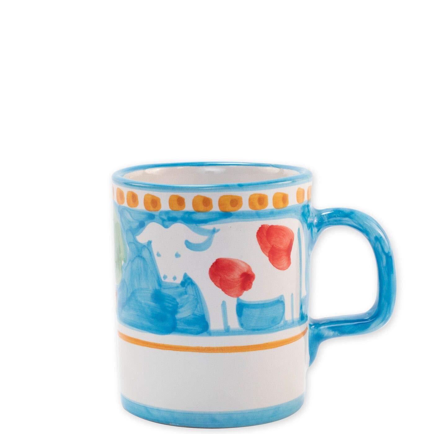 Diner Mugs 195000010Aunt Mug Turquoise