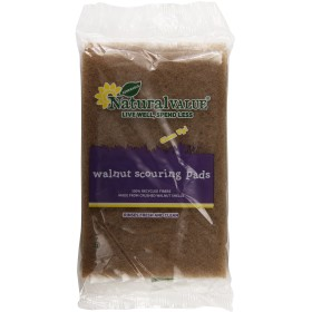 Natural Value - Walnut Scouring Pads - 2 Pad(s)