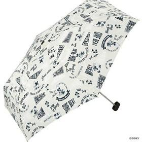 ワールドパーティー(Wpc.) ディズニー雨傘 折りたたみ傘 ベージュ 50cm レディース ポーチタイプ ミッキーマウス/サーフミニ DS065-179 BE