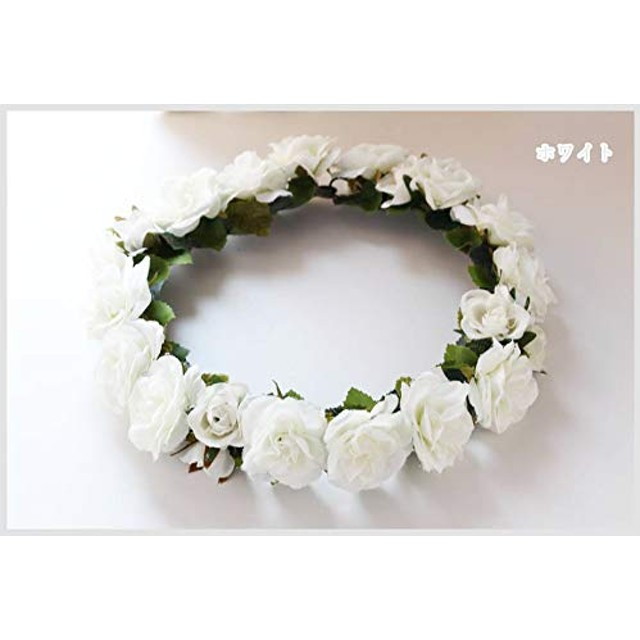 リーズナブル花冠 (ホワイト)