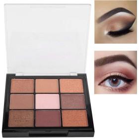 適用 容易 9つ 色 きらめきのマットのアイシャドウパレット、アイシャドウの化粧品の粉(04#)