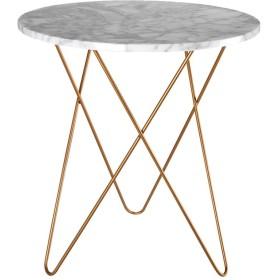 ZWD 大理石の小さな丸いテーブルクリエイティブなリビングルーム複数のサイドの小さなコーヒーテーブルコーナーいくつかの装飾レジャーテーブルテーブルの高さを交渉する60CM 家具 (サイズ さいず : 404060cm)