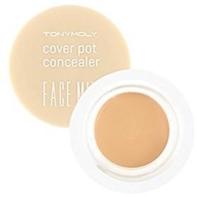 (3 Pack) TONYMOLY Face Mix Cover Pot Concealer - #2 Natural Beige (並行輸入品)