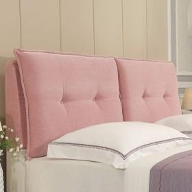 畳ソフトパックヘッドボードクッション、布防塵カバーベッドサイドバックレスト読書枕、ホームデコレーション寝具、サイズはカスタマイズ可能,Pink-906010cm