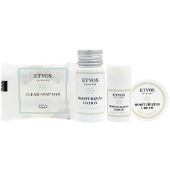 ETVOS(エトヴォス) モイスチャーライントラベルセット 2週間お試し[洗顔石鹸/化粧水/美容液/保湿クリーム]