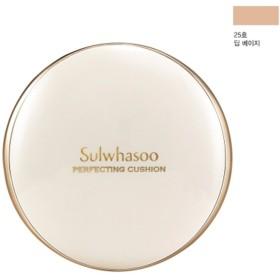 雪花秀/Sulwhasoo PERFECTING CUSHION/パーフェクティング クッション 25号 本品15g+リフィル15g(SPF50+/PA+++ )ファンデーションSet(海外直送品)
