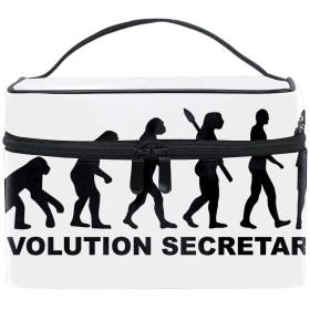 レディースEvolution Of Teacher 小物入れケース 化粧ポーチ 小物用収納ポーチ 化粧品収納袋