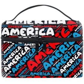 化粧ポーチ 化粧品 収納 コスメポーチ レディース ポーチ 大容量 軽量 防水アメリカ
