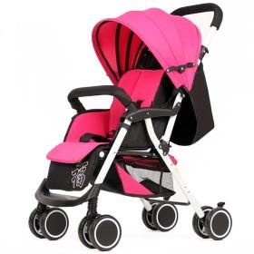 ベビーカー、全地形軽量フィットネスランニングベビーカー、4輪ミュートデザイン、衝撃吸収付き、0〜36ヶ月の赤ちゃんに最適