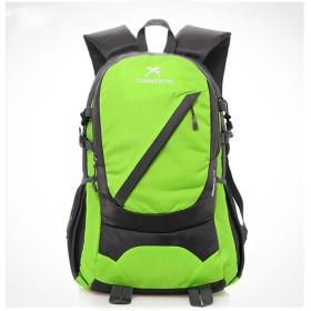 Tenflow リュックサック 防水 バックパック バッグ ザック オシャレ カジュアル 大容量 スポーツ クライミング 旅行 サイクリング 021-rysm-8611xb(20-35L グリーン)