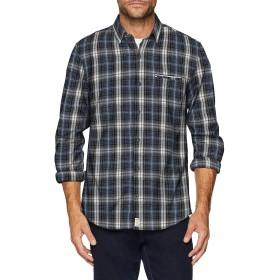 Pierre Cardin Shirt Longsleeve、シミーズカジュアルオム、マルチカラー(Multicolor 9031)、M