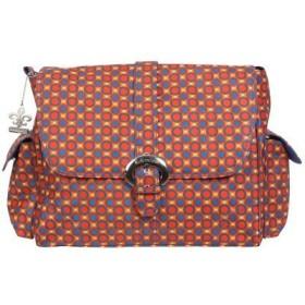 Kalencom Messenger Buckle Diaper Bag, Cassandra Dots by Kalencom