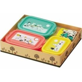 ムーミン フードコンテナ &おしぼりセット 262999/SET833