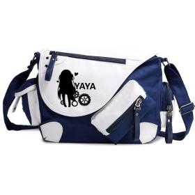 シバイヌシバさん 機巧少女は傷つかない 可愛い アニメ 漫画 メッセンジャーバッグ 斜め掛け ショルダーバッグ キャンパストート 旅行カバン カジュアルバッグ 旅行バッグ メンズ 男性用 女性用 男女兼用