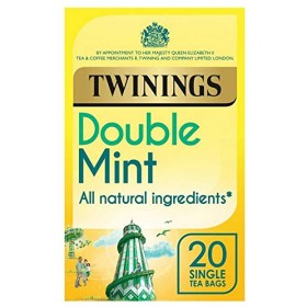 [Twinings ] トワイニングダブルミント点滴用ティーバッグ20パックあたり - Twinings Double Mint Infusions Tea Bags 20 per pack [並行輸入品]