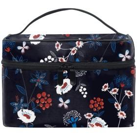 収納バッグ コスメポーチ 化粧ポーチ 洗面用具入れ トラベルポーチ 旅行 出張 収納 コスメバッグ コンパクト 超軽量