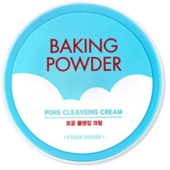 [2016 Upgrade!] ETUDE HOUSE Baking Powder Pore Cleansing Cream 180ml/エチュードハウス ベーキング パウダー ポア クレンジング クリーム 180ml [並行輸入品]