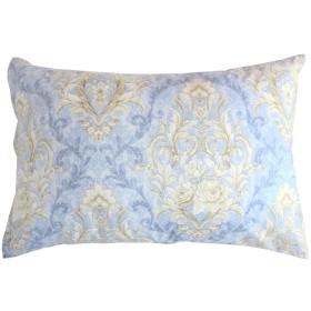 メリーナイト 日本製 綿100% 枕カバー 「セレナーデ」 43×63cm サックス 261564-76