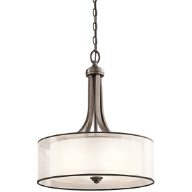 Kichler Lighting Lacey 3ライトInvertedペンダント 20 in. W x 23.5 in. H 42385MIZ 1