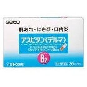 【第3類医薬品】アスビタン〈デルマ〉 30カプセル ×10