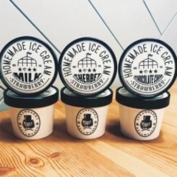 農家直送!BELL FARMの美味しい苺アイスクリーム 3種×2個 6個セット