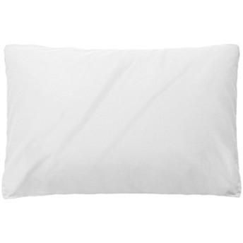 枕カバー ホテル品質 高級綿100% 人気ピローケース 防ダニ 抗菌 防臭 全サイズ対応(ホワイト、43x63cm)