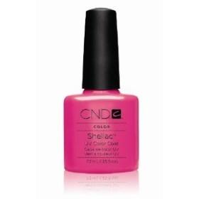 CND(シーエヌディー) シェラック UVカラーコート7.3mL 519 Hot Pop Pink(マット) [並行輸入][海外直送品]