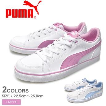 PUMA プーマ スニーカー コートポイント VULC V2 BG 362947 レディース 靴 シューズ