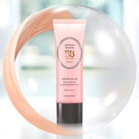 ETUDE HOUSE Precious Mineral BB Cream Moist [Vanilla] SPF50+ PA+++ エチュードハウス プレシャスミネラルBBクリーム モイスト [バニラ] SPF50 + PA +++ [2017 NEW] [並行輸入品]