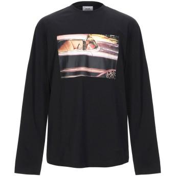 《セール開催中》CALVIN KLEIN JEANS メンズ T シャツ ブラック M コットン 100%
